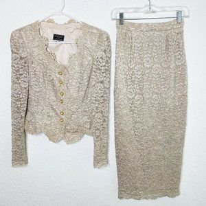 Cachet by Bari Protas Vintage Matching Outfit Set